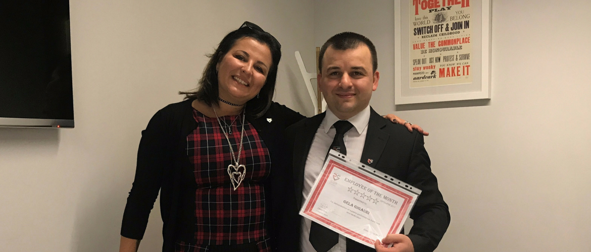 Employee of the Month October 2017