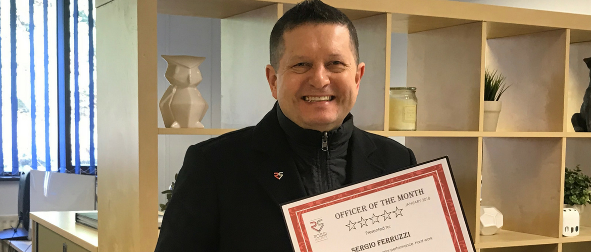 Officer of the month January 2018