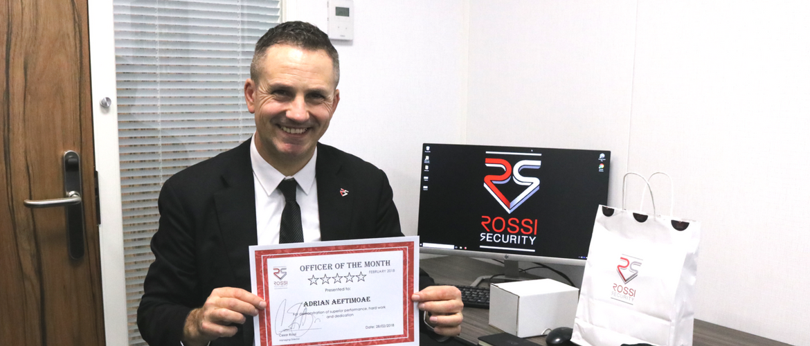 Officer of the Month - February 2018