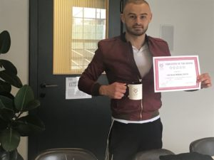Catalin Sava - Employee of the Month