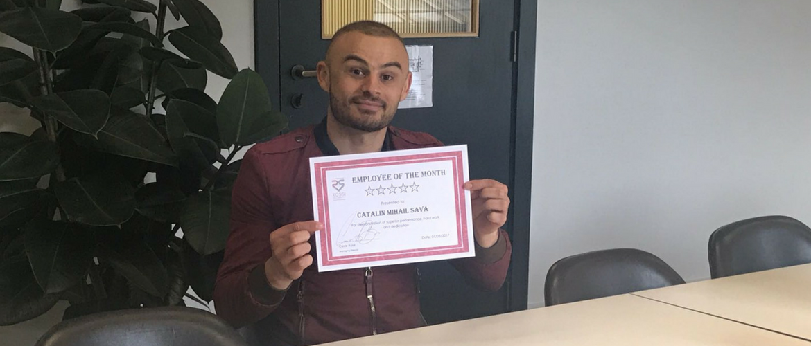 Employee of the Month - Catalin Sava