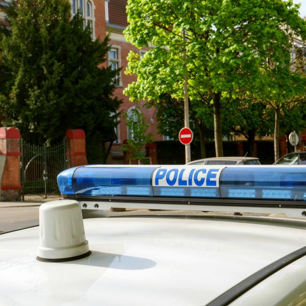Local police car