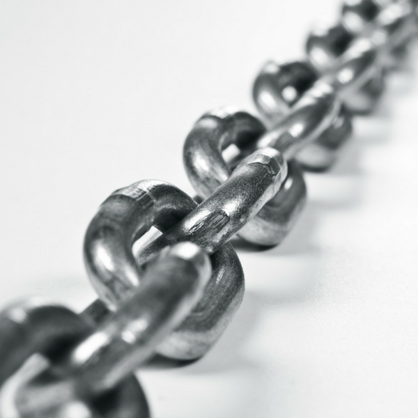 Teamwork - links in chain