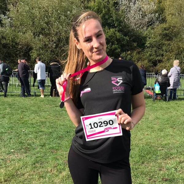 Jana - Race for Life Winner