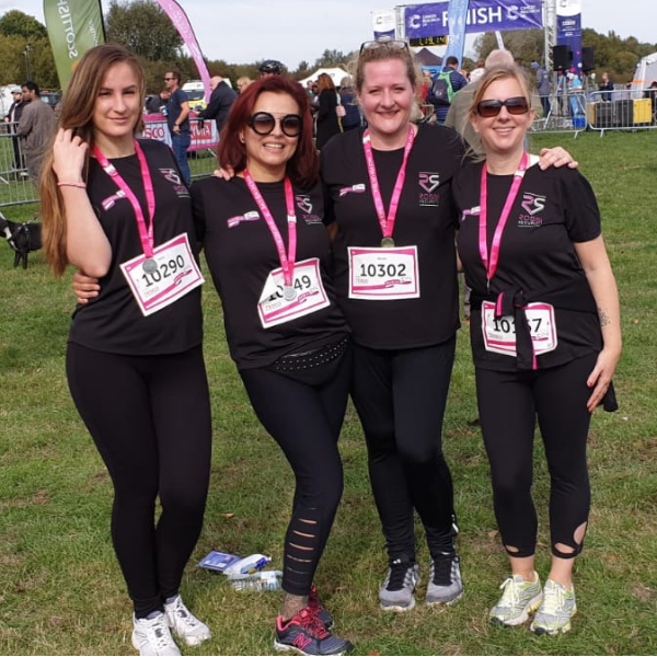 Rossi Security Race for Life Team